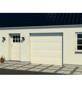 Garageport 2 - 6 meter i model RV