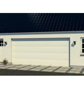Hangar garageport med RF elementer