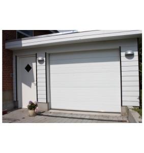 Garageport RL i hvid