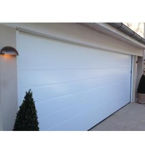 Garageport RV i hvid